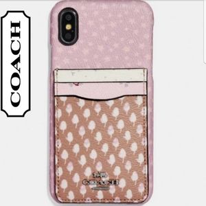 COACH PHONE CASE